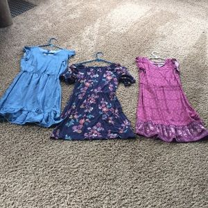 Girls Old Navy L (10-12) dress lot